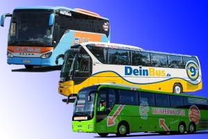 e Linie kommt nach Tübingen. Bildquellen: flixbus.de/deinbus.de/meinfernbus.de