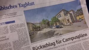 Schwäbisches Tagblatt vom Freitag