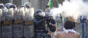 Polizeieinsatz in Rio de Janeiro. Bildquelle:  Pedro Kirilos / Agência O Globo