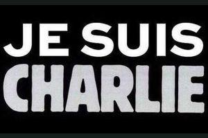 """""""Ich bin Charlie"""" - Mit diesem Zeichen nehmen Menschen Anteil an den Morden am Mittwoch in Paris."""
