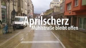 Mühlstraße: Fahr auch in Zukunft weiter zum Lustnauer Tor - Foto: Pläcking